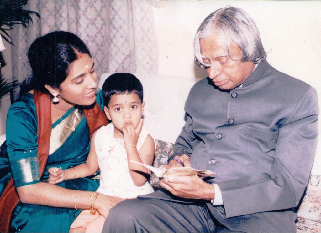 Shri A. P. J. Abdul Kalam with Amma